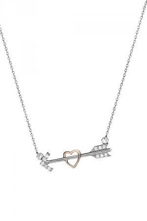 Bow of Heart Necklace