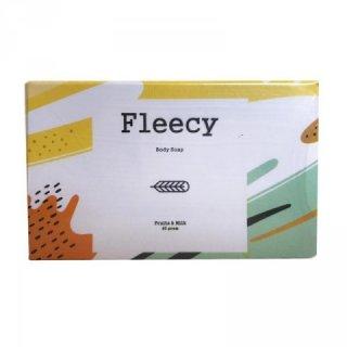 Fleecy Fruits & Milk Whitening Soap Sabun Mandi