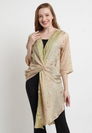 Batik Etniq Craft Baju Batik Wanita Liza Viscose Gr