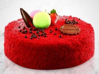 4. Red Velvet Cake untuk Menyambut Hari Baru sang Pacar
