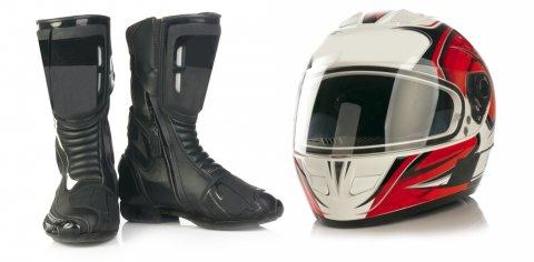 Sepatu KEAMANAN / Safety Saat Berkendaraan Sepeda Motor