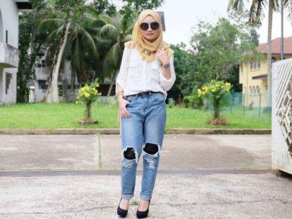 Guide Lengkap Memilih Dan Memadupadankan Celana Jeans Robek Wanita 2018