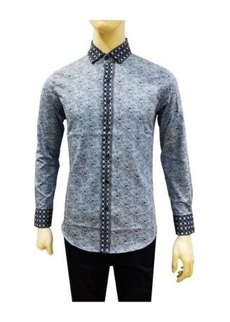 Herman Batik Kemeja Batik Slimfit 8168 Pria Kombinasi Muslim Koko Jeans 022c9c683d