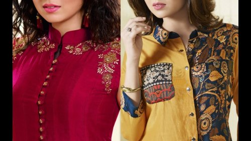 Ditch The Old Tops And Get Fashionable With The Latest Kurti Blouses 10 Chic And Contemporary Kurti Blouses For 2019 Unique Neck Designs