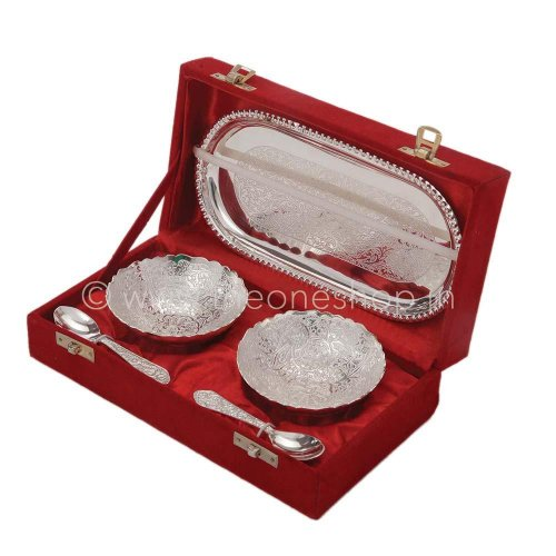 ... chrome plated gift set silver · sindoor dani source return gift ideas for 50th wedding anniversary ...
