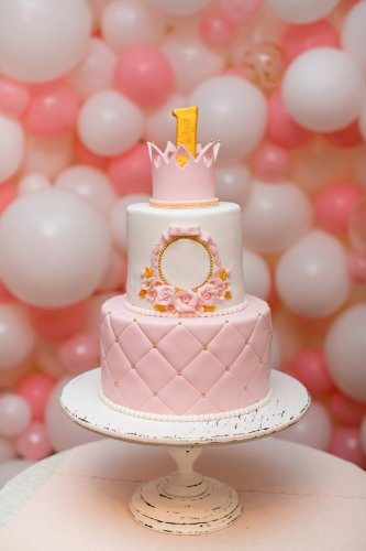 Awesome 10 Cute And Pretty 1St Birthday Cakes For Girls With Pictures Funny Birthday Cards Online Elaedamsfinfo