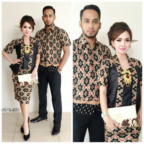 Resep tampil luar biasa dengan baju couple batik terbaru 919edc2903