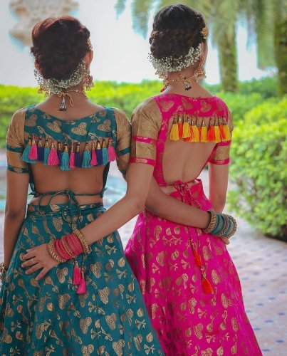 Make Your Lehenga Look One Of A Kind 10 Blouse Back Design