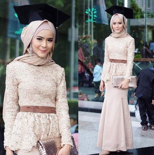 10 Pilihan Gaun Wisuda Simpel Nan Elegan Untuk Tampil Cantik Di
