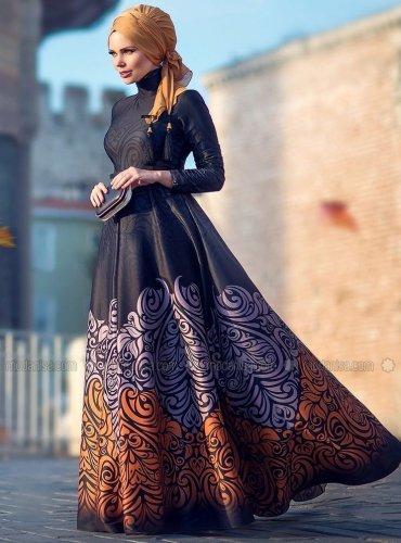 Model Baju Gamis Dian Pelangi Gambar Islami
