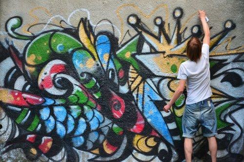 530+ Gambar Grafiti Bunga Keren Gratis