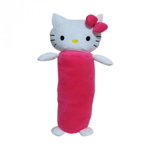 Hello Kitty Nicola Kepala Boneka Hello Kitty Guling  60 cm  - Pink 6100365272