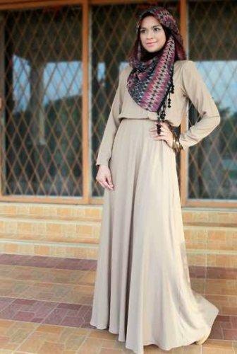 9 Model Baju Gamis 2018 Terbaru Yang Bakal Bikin Penampilan Muslimah