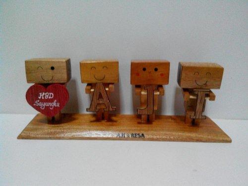 Boneka Danbo Ucapan Customizable dari Danbo Craft. Sumber gambar ... 9144152cd2