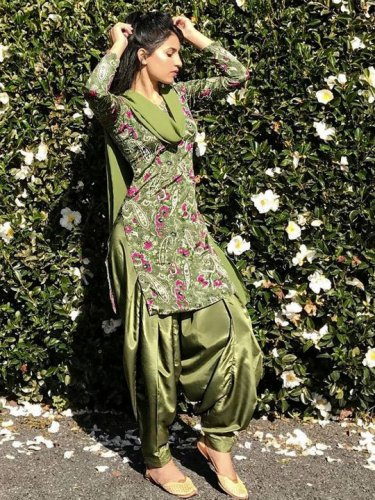 Details about  /Indian designer kurti pant with dupatta for women/'s ethnic casual wear