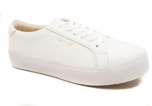 CDE Ceremonial Men Sneaker White (Zalora Sepatu Pria Sneakers Putih) 323fc2f958