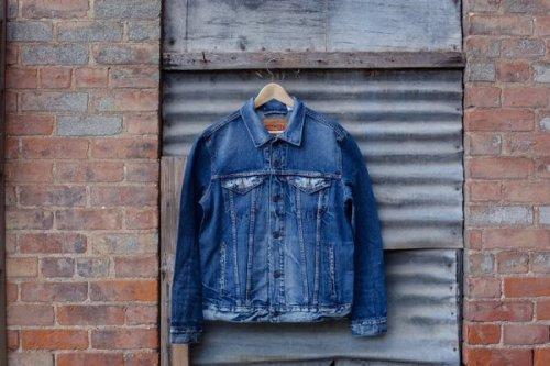 55 Model Jaket Jeans Kombinasi Kulit Terbaru