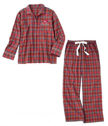 定番シャツパジャマもふんわりあったかい冬仕様