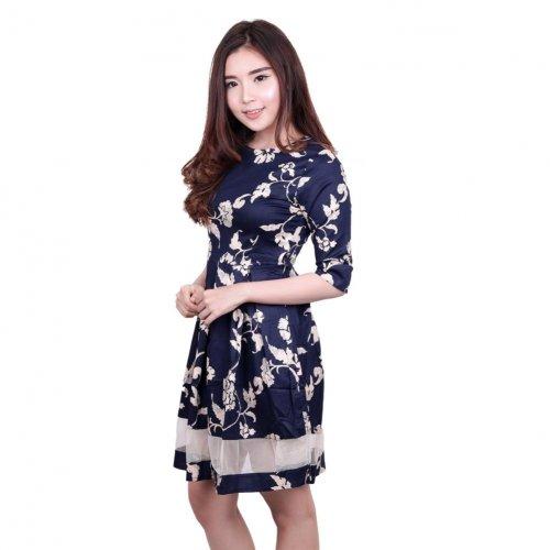 Feminin dan Penuh Gaya dengan 10 Pilihan Baju Dress Wanita Terbaru 425c51e17e