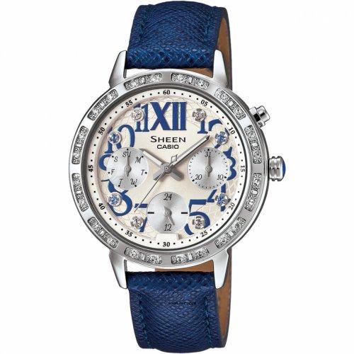 Casio SHE-3036L-7AUDR. Sumber gambar saatler.com. Jam tangan analog wanita  ... d89879eda4