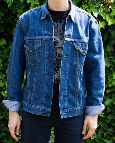 700+ Desain Jaket Levis Depan Belakang Gratis Terbaik