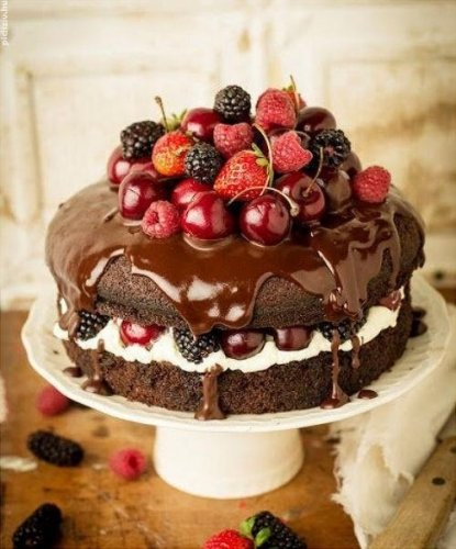 Inilah Ide Kue Ulang Tahun Coklat Super Lezat 2017