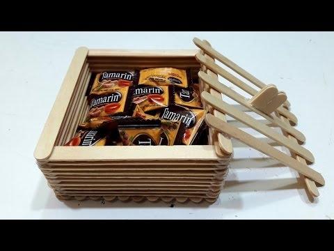 Laci Mini. Sumber gambar youtube.com. Anda juga bisa membuat laci mini dari  bahan stik es krim. fa3922b942