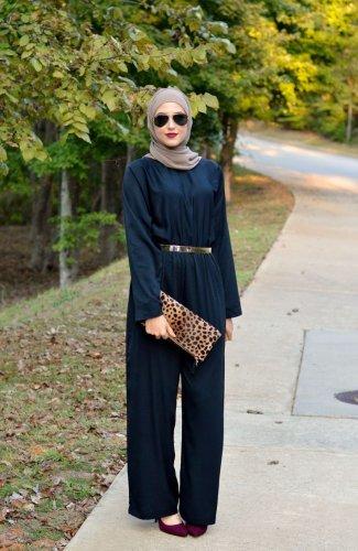 Mau Pakai Jumpsuit Dengan Hijab Why Not Ini Tips Dan 8 Rekomendasinya