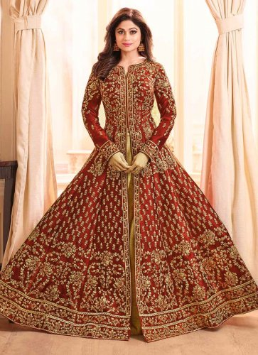 Strike A Different Note With Trending Lehenga Blouse Designs 10 Exceptional Lehenga Long Top Options For You 2020