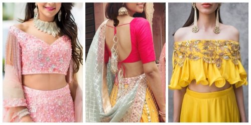 New Saree Blouse Designs Of 2020 That Are Ruling The Fashion Scene 10 Designs You Probably Haven T Worn Yet But Should