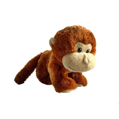 Toylogy Boneka Hewan Monyet ( Monkey Stuffed Plush Animal Doll ) 10 inch -  Coklat 382a30c4ff