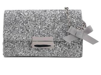 Rekomendasi tas ke pesta selanjutnya adalah dari Esprit Shoulder Clutch  Bag. Dengan nuansa solid dan tambahan glitter 43771f495d