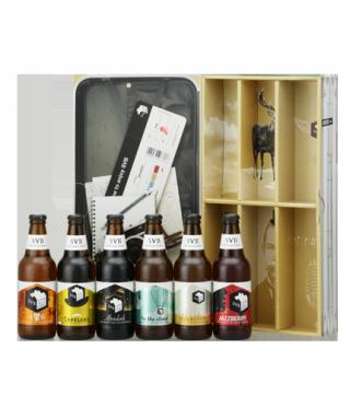 個性豊かな6種類のクラフトビールをまとめて楽しめる
