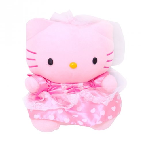 Istana kado Boneka Hello Kitty Wedding Princess Gaun -pink. cfd21fef9f