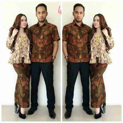 Desain Baju Batik Couple Keluarga Terbaru - Inspirasi ...