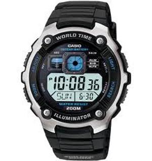 Casio AE 2000W 1AV. Sumber gambar www.tokopedia.com. Kesan sporty langsung  tergambar saat Anda melirik jam satu ini. Produk Casio memang selalu keren  dan ... 628eab32f5