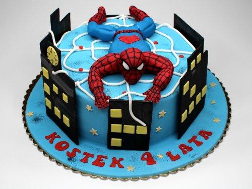 kue ulang tahun super hero