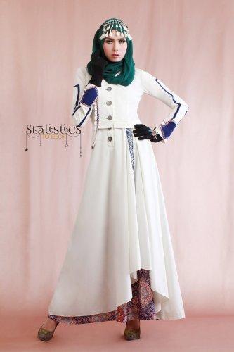 Tampil Bersih Dan Elegan Ini Dia 14 Pilihan Terbaik Baju Muslim Warna Putih Untuk Kamu