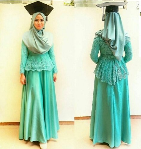 Model Baju Gamis Wisuda 2019 Baju Muslim