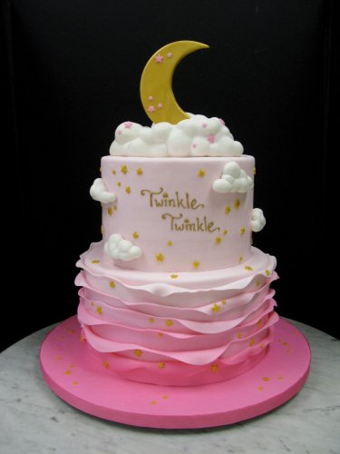 Fantastic 10 Cute And Pretty 1St Birthday Cakes For Girls With Pictures Funny Birthday Cards Online Fluifree Goldxyz