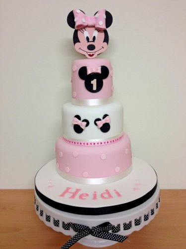Excellent 10 Cute And Pretty 1St Birthday Cakes For Girls With Pictures Funny Birthday Cards Online Sheoxdamsfinfo