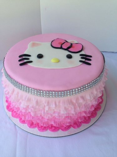4 Inspirasi Kue Ulang Tahun Hello Kitty Yang Bisa Kamu Buat