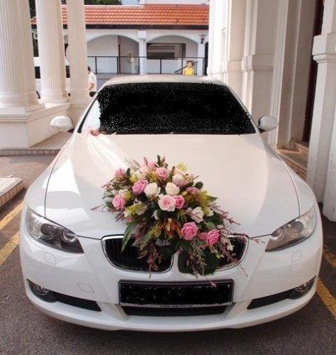 Ide Hiasan Mobil Pengantin Dan 8 Aksesoris Hiasan Cantik