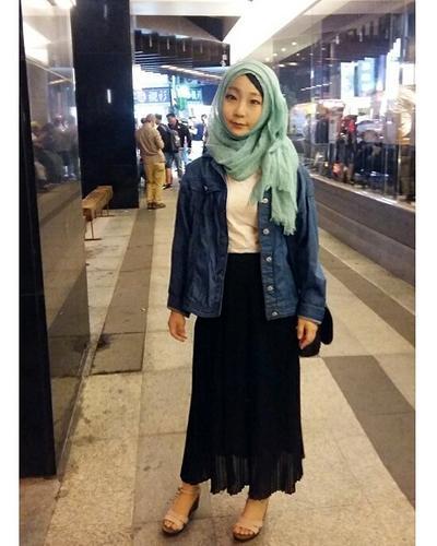 Fashion Hijab Ala Korea 2019