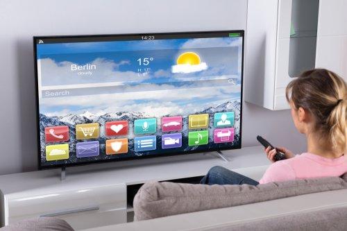Monitor Layar Datar Tv Canggih