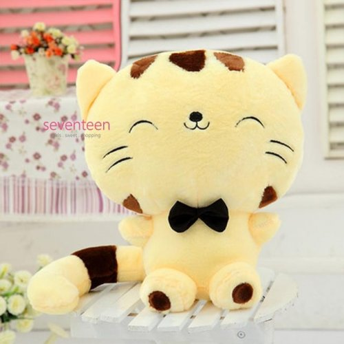 Boneka Kucing Special Cute Yellow Brown Kitty Cat Jumbo Doll - 70cm 843d2f7d22