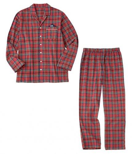 ペアで着たい柔らかなフランネルシャツパジャマ