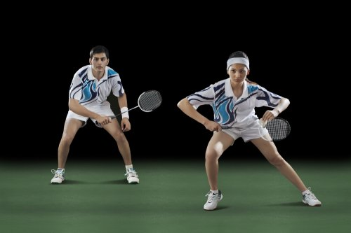 men playing women's roles at court - 500×333