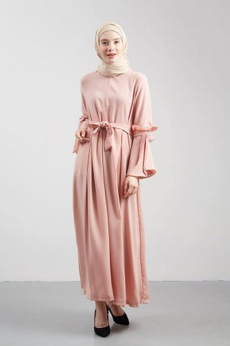 House of Amee Filiand Dress Peach. Sumber gambar hijabenka.com. Biar baju  muslim makin keren ... 15767d92f4