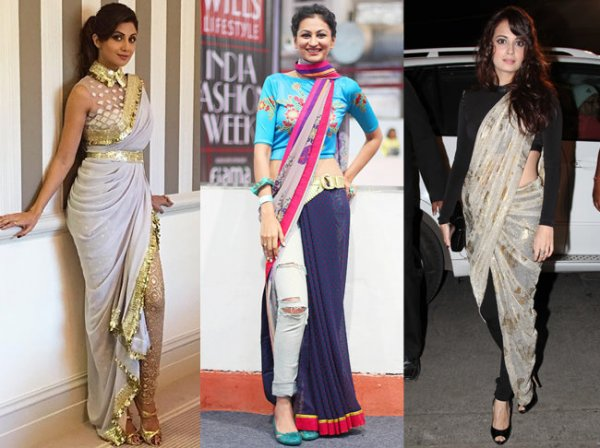 Go Bold with Fusion Wear! Learn How to Wear Sarees with Pants and Palazzos Plus Tips on Styling This Cool Combo and 12 Stunning Options (2021)